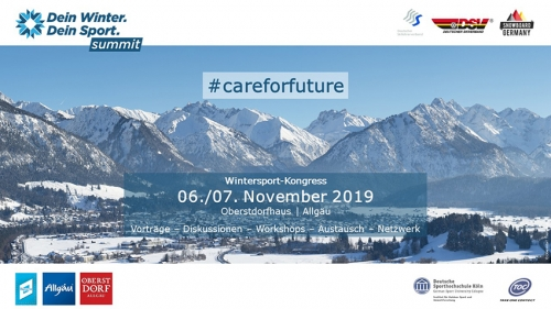 Dein Winter. Dein Sport - #careforfuture