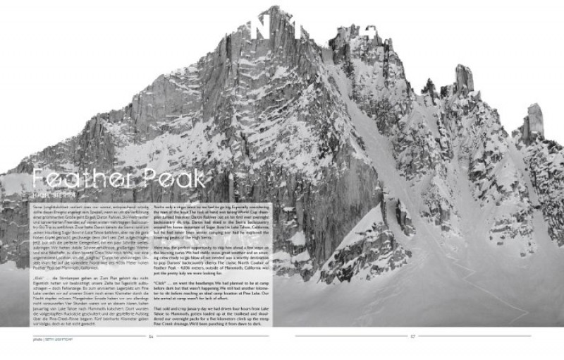 BACKLINE Das neue Backcountry Freeskiing Photo & Story Magazin