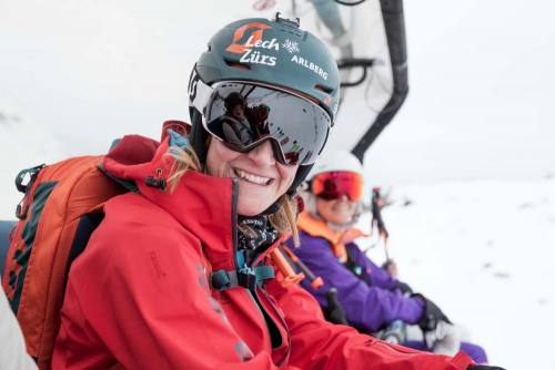 Women's Progression Days Skitourencamp 2019 by Lorraine Huber